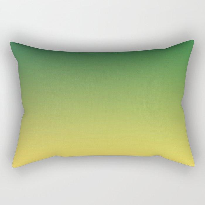 HIGH TIDE - Minimal Plain Soft Mood Color Blend Prints Rectangular Pillow