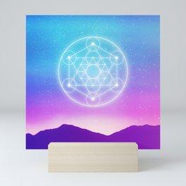 Sacred Geometry (Metatron) Mini Art Print