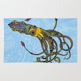 Electric Squid Rug