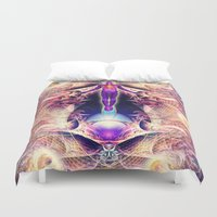 architect Duvet Covers featuring Architect of Consciousness by AC DESIGNS