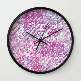 Berry Delight (Squares) Wall Clock