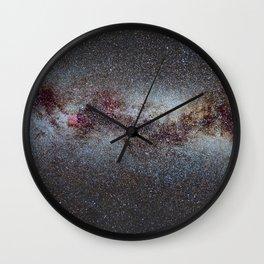 The Milky Way from Scorpio Antares and Sagitarius to North America Nebula in Cygnus Wall Clock