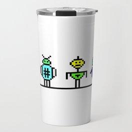 I love bots Travel Mug