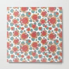 Pincushion Floral Print - Beautiful Australian Native Flowers Metal Print