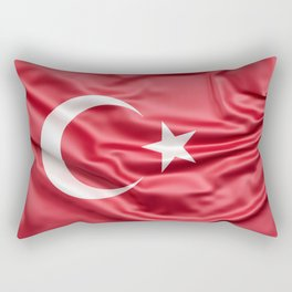 Flag of Turkey Rectangular Pillow