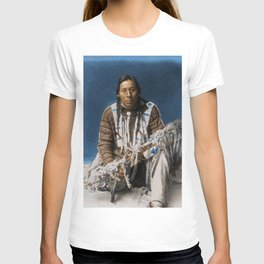 A medicine pipe - Blackfoot - American Indian T-shirt