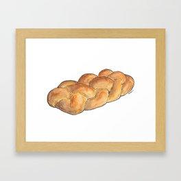Challah Framed Art Print