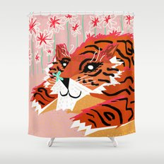 A sweet encounter Shower Curtain