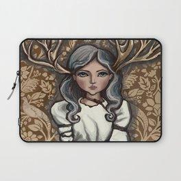 deer Woman Laptop Sleeve