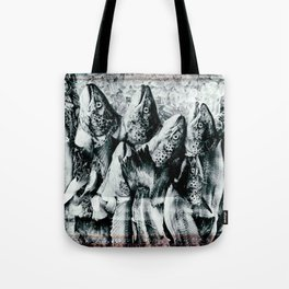 Salmon Migration Tote Bag
