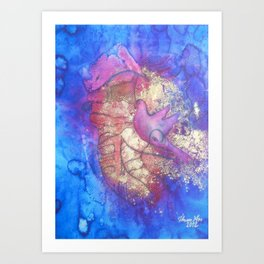 The Princess of Snakes Art Print