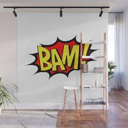 Bam! Kapow! Boom! Wall Mural