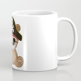 Pirate Teddy Bear Coffee Mug