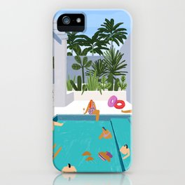 Pool oasis iPhone Case