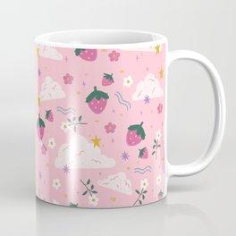 Strawberry Clouds Coffee Mug