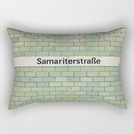 Berlin U-Bahn Memories - Samariterstraße Rectangular Pillow