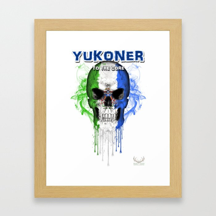To The Core Collection: Yukon Framed Art Print