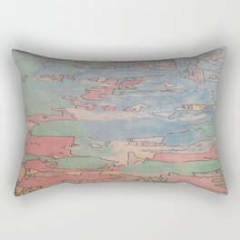 Colourfull world Rectangular Pillow