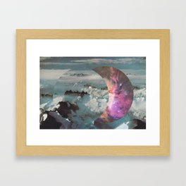There are two ways to live:  Framed Art Print