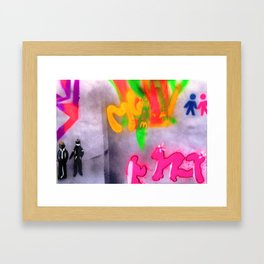 Untitled242014a Framed Art Print
