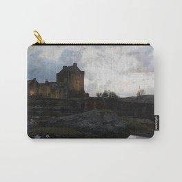 Eilean Donan Castle Kyle of Lochalsh Vintage Border Carry-All Pouch