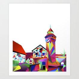 Sinwellturm Nuremberg Art Print