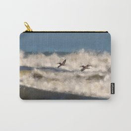 Between The Waves Carry-All Pouch