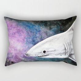 Galaxy Shark Rectangular Pillow