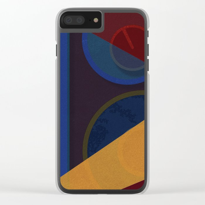 Abstract #265 Clear iPhone Case