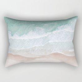 Birds View Sea Rectangular Pillow