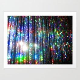 Glitter! Art Print