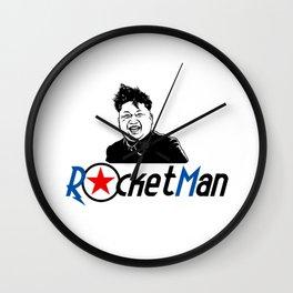 Rocket Man Kim Jong Un Wall Clock