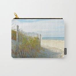 Sandy Beach, Ocean, and Dunes Carry-All Pouch