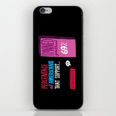 Congress vs Planned Parenthood iPhone & iPod Skin
