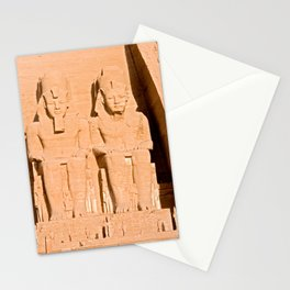 Great Temple of Abu Simbel - Egypt Stationery Cards