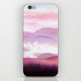 Candy Floss Mist iPhone Skin