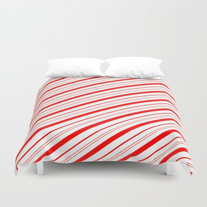 Candy Cane Stripes Bettbezug