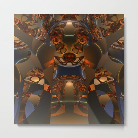 Reflectology Metal Print
