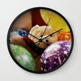 In Party Mood! Wall Clock