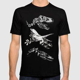 Jurassic Bloom - Black version. T-shirt