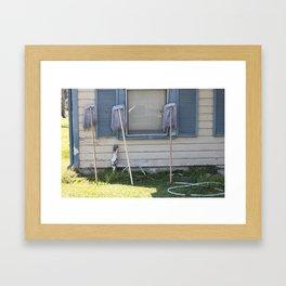 Objects of Womanhood Framed Art Print