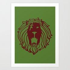The Lion's Sin of Pride Art Print
