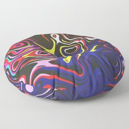 Melted Reality Floor Pillow