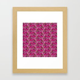 Escher Fish Pattern VIII Framed Art Print