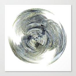 Fractl heart Canvas Print