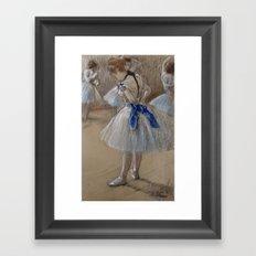 Dancer by Edgar Degas, 1880 Framed Art Print