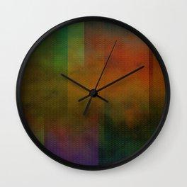 Metallic Colours Wall Clock