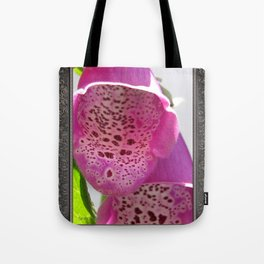 Digitalis named Excelsior Pink Tote Bag