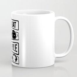 Eat Sleep Pole Dance Repeat - Poledance Dancing Coffee Mug