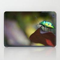 philippines iPad Cases featuring Iridescent Bug (Philippines) by Dr. Tom Osborne